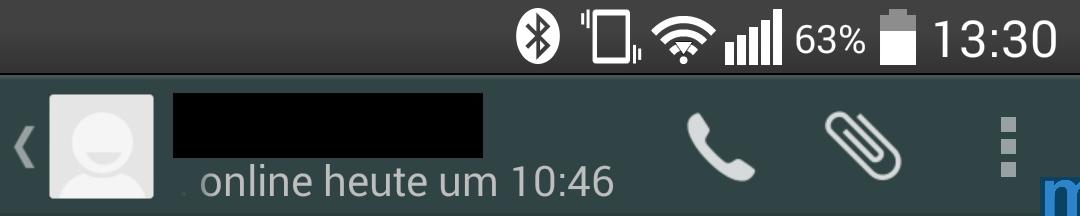 Whatsapp Telefon-Symbol